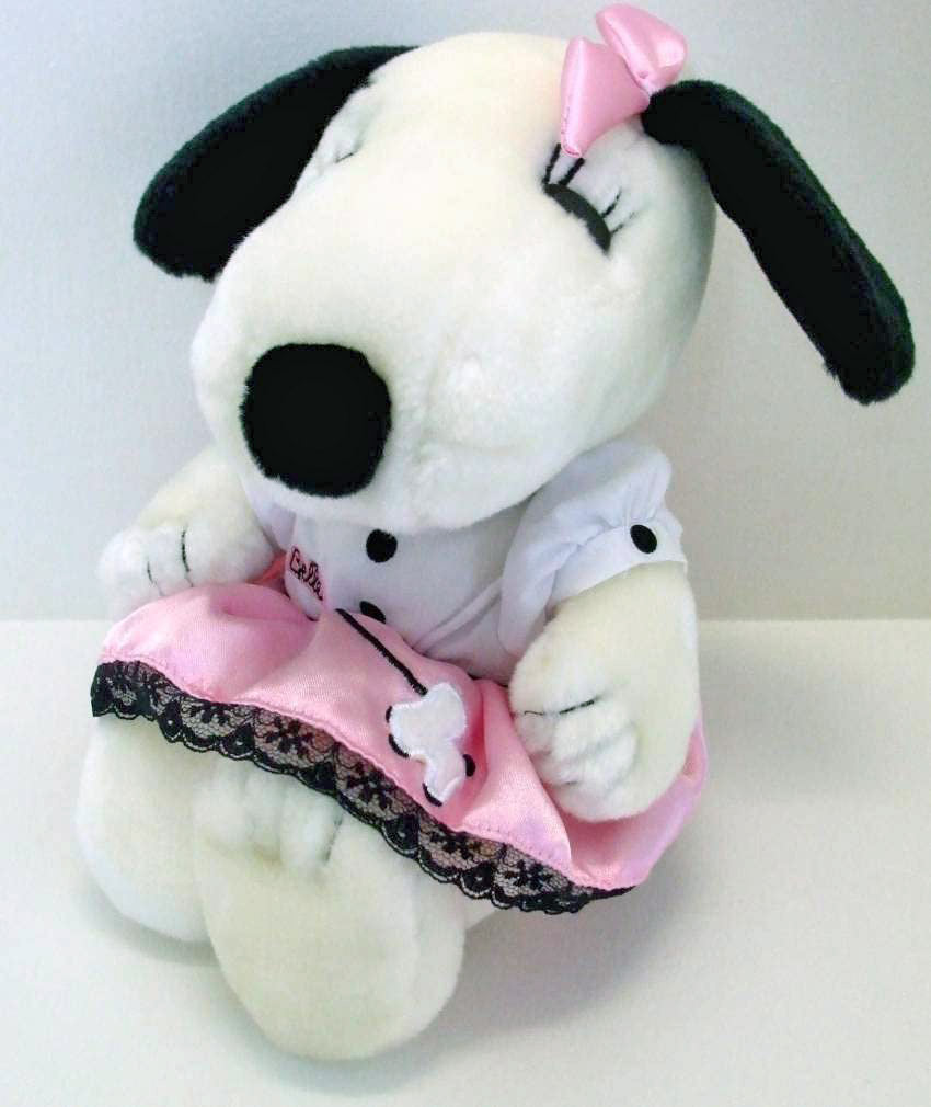 Belle Plush Doll In Poodle Skirt