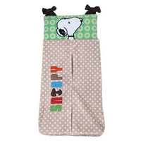 Lambs & Ivy Snoopy and Woodstock BFF Diaper Stacker