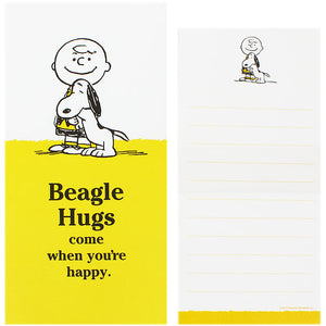 Beagle Hugs Stationery - Beagle Hugs Come When You're Happy
