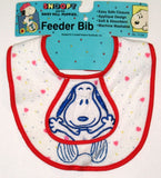 Snoopy Feeder Baby Bib With Flap