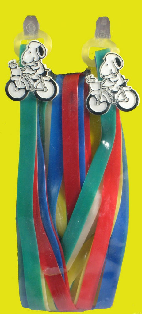 Snoopy Bicycle Handlebar Streamers