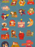 Snoopy Holographic Party Stickers
