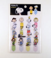 Peanuts Removable Book Mark Stickers