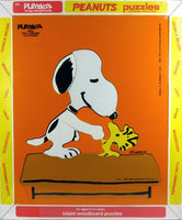 Snoopy and Woodstock Wood Puzzle - Pals