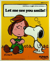 Peppermint Patty and Snoopy Wood Puzzle - Let Me See You Smile!