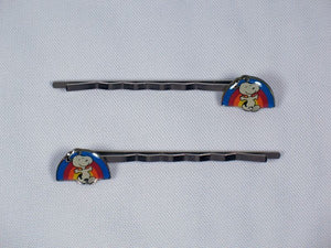 Enamel Bobby Pin Set - Snoopy
