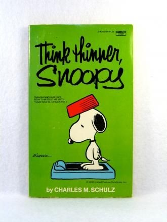 Think Thinner, Snoopy Book
