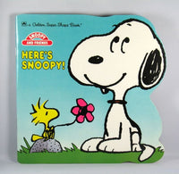 Here's Snoopy book
