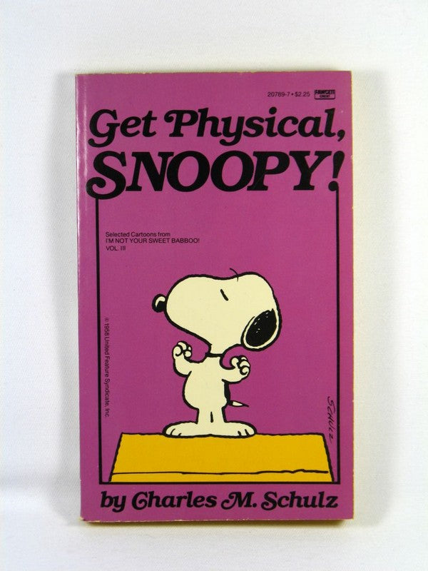 Get physical, Snoopy!