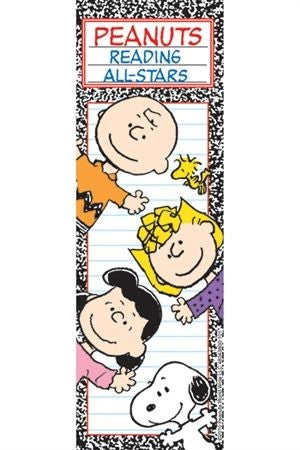 Peanuts Gang Reading All Stars Book Mark - LOW PRICE!