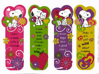 Snoopy Book Mark Set - Great Substitution For Traditional Valentine's Day Cards!