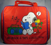 Snoopy Book and Tape Collection Tote Bag