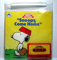 Snoopy Come Home Book and Tape Set
