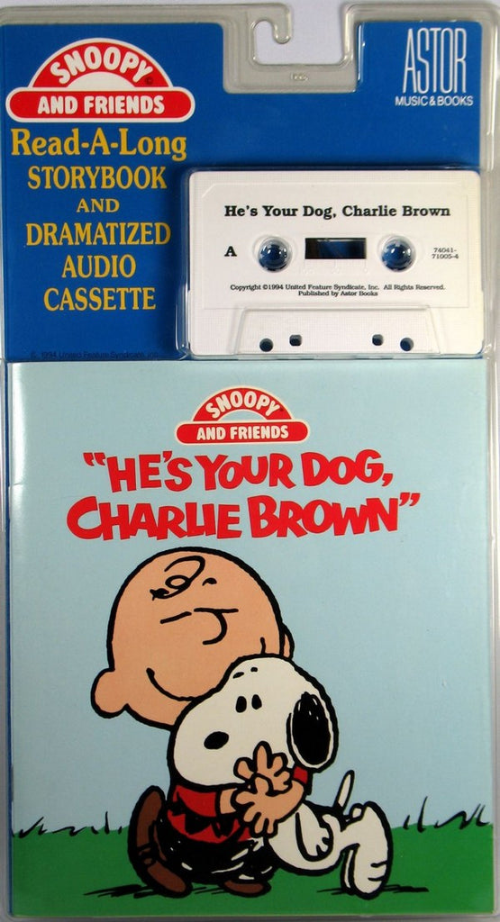 """He's Your Dog, Charlie Brown"" Book And Tape Set"