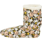 Peanuts Super Soft Plush Slipper Boots