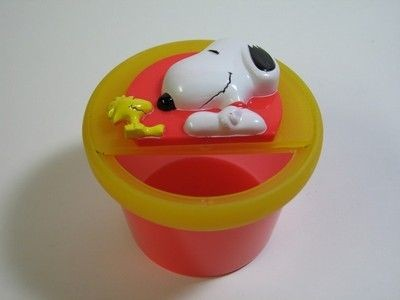 Snoopy and Woodstock Snack Cup