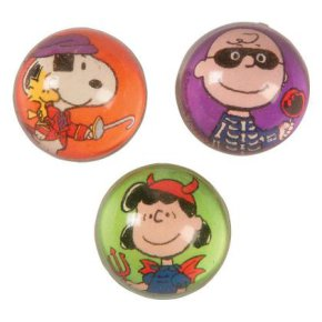 Peanuts Halloween Bouncy Ball Set