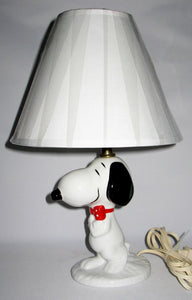 Snoopy Bow Tie Lamp