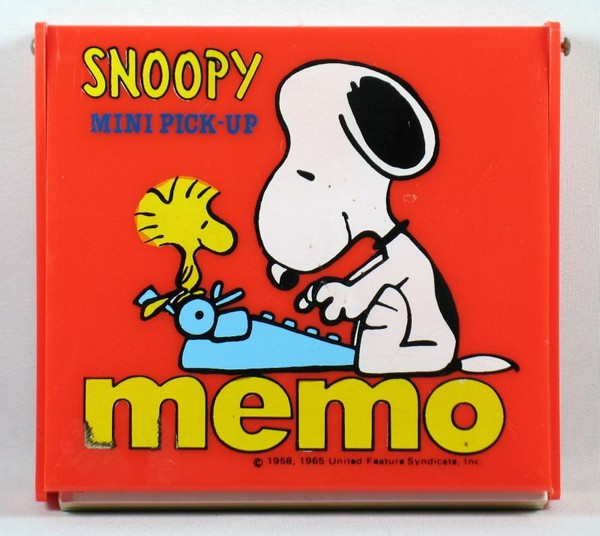 Snoopy Boxed Pick-Up Memo Pad