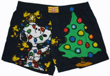 Snoopy Christmas Boxers with Gift Bag