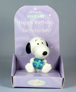 Little Snoopy Birthday Figurine - Birthday Boy
