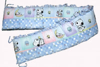 Lambs & Ivy My Little Snoopy Crib Bumper Pad