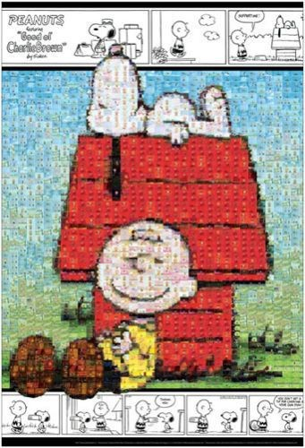 Beverly Jigsaw Puzzle - Charlie Brown and Snoopy Mosaic Art