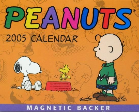 2005 Peanuts Gang Mini Desk Calendar