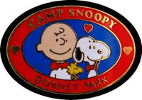 Camp Snoopy / Dorney Park Enamel Pin