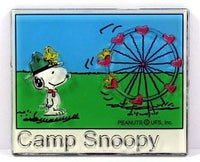 Camp Snoopy Amusement Park 2-D Acrylic Magnet