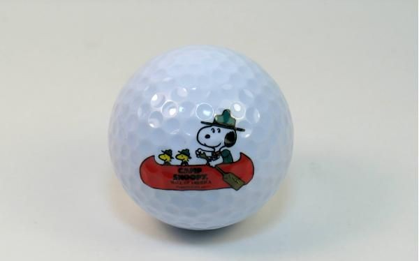 Camp Snoopy Golf Ball
