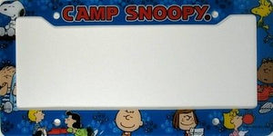 CAMP SNOOPY License Plate Frame