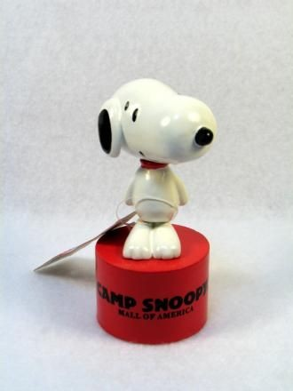 Camp Snoopy Snoopy Wood Push Puppet