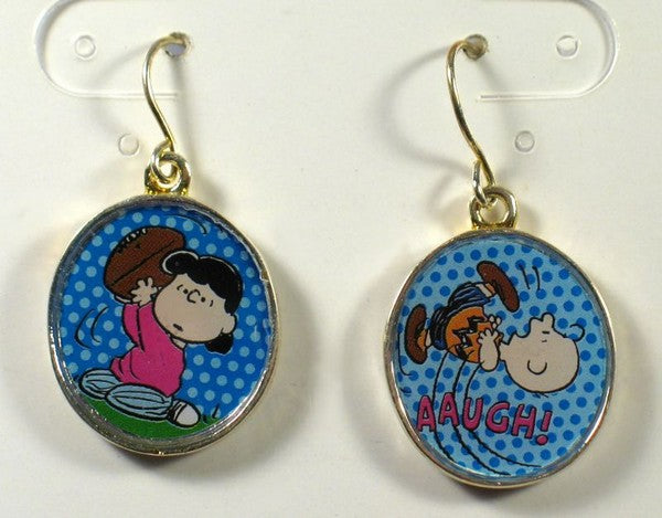 Lucy and Charlie Brown Earrings