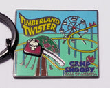 Camp Snoopy Timberland Twister Metal Key Ring With Motion Feature