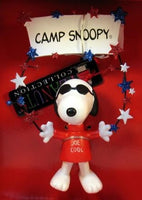 ADLER JOE COOL CAMP SNOOPY ORNAMENT