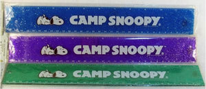 Camp Snoopy Glitter Ruler