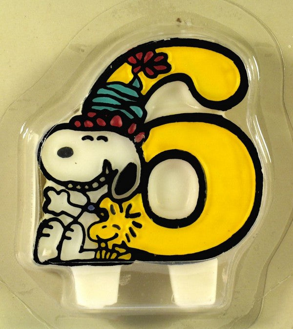 Snoopy #6 Candle
