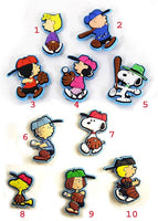 Peanuts Gang Ball Player Vinyl Magnet In Plastic Ball