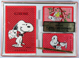 Snoopy Playing Card Ensemble