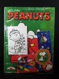 Peanuts Gang Coloring Book, Crayons, Stickers + Pinback Button