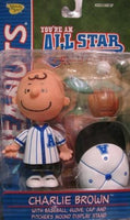 Charlie Brown Figure - All Star Memory Lane (Blue Uniform)