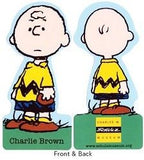 Charles Schulz Museum Charlie Brown Die-Cut Laminated Book Mark