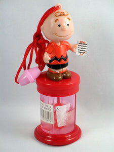 Charlie Brown Bubble Wand With Lanyard/Neck Cord