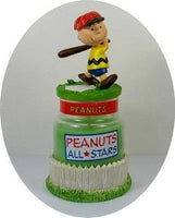 Peanuts Baseball Collectible Candle Jar - Charlie Brown