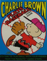Charlie Brown Plays Baseball Card Game