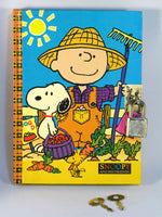 Charlie Brown Vintage Hardback Diary with Lock