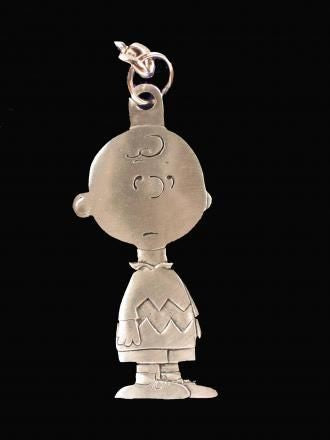 CHARLIE BROWN Pewter Key Chain