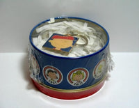 CHARLIE BROWN Key Chain In Decorative Tin Canister Set