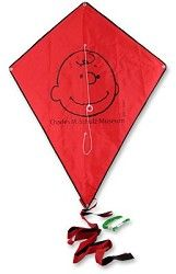 CHARLIE BROWN Charles Museum Diamond Kite